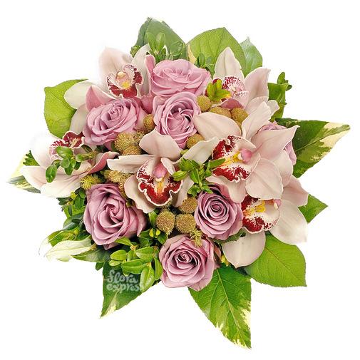 Розовая карамель - изображение букета 2