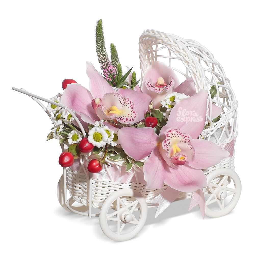 Букет «Flora Express», С Новорожденной!