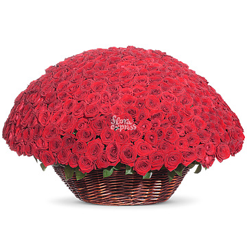 Букет Корзина «Море роз»