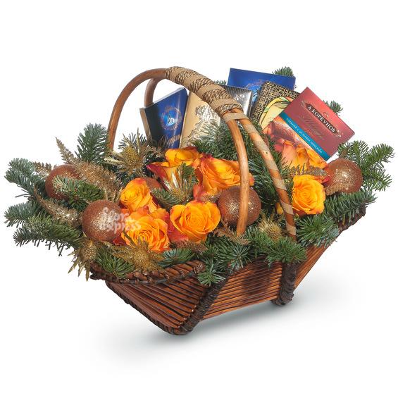 Корзина «Сладкий праздник»
