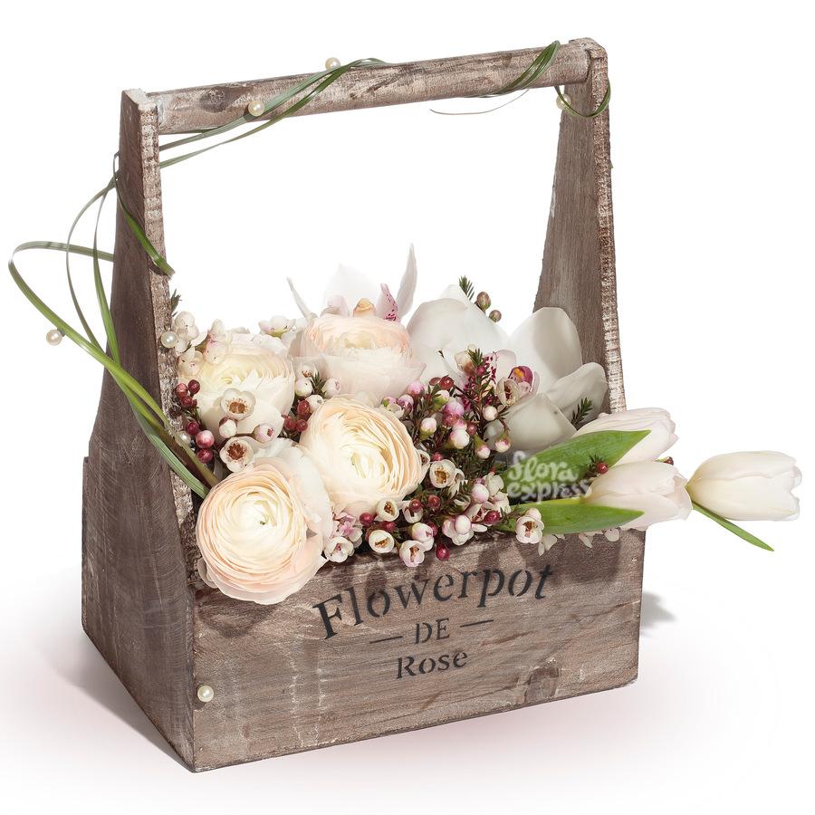Букет Незабываемое впечатление с доставкой по Москве России и Миру  заказать и купить цветы в Флора Экспресс