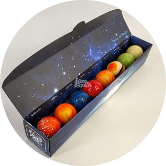 Букет Шоколадные планеты 1